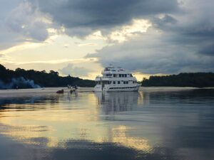 Cloudy with a chance of Amazon River Adventures on the Amazon Lord 2